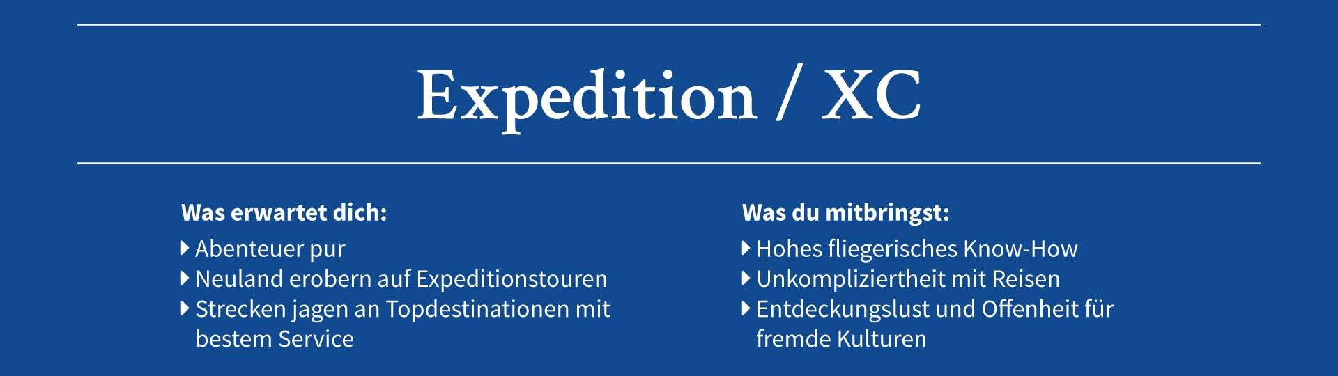 Expedition / XC